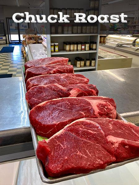Chuck Roast Butcher Shop Meat Market