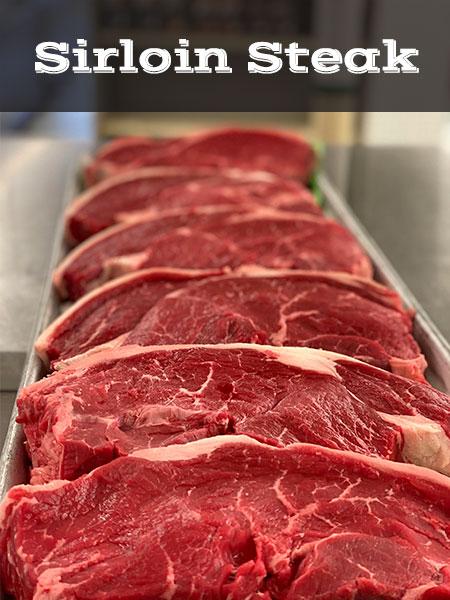 Sirloin Steak Butcher Shop Meat Market